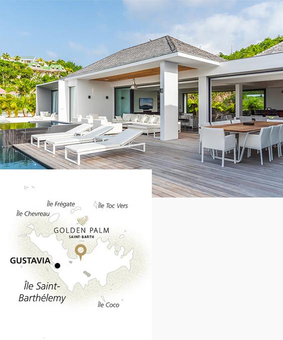 Boutique Hôtels Collection : Golden Palm Villa